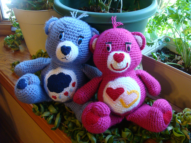 Ravelry Care Bear Pattern By Carolyn Christmas