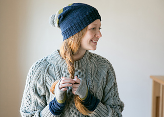a203ab7a Ravelry: Zara Hat & Mitt Set pattern by Stacey McCrea Warner