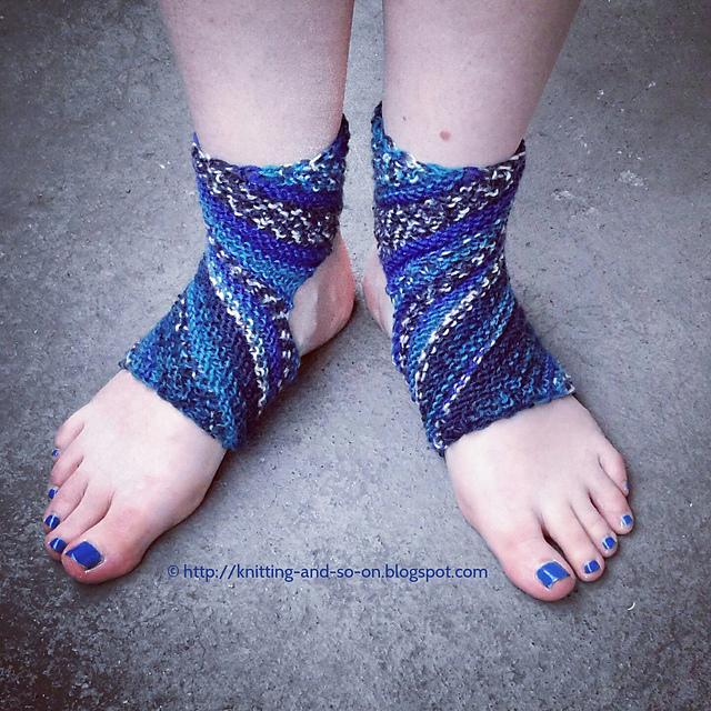 Ravelry Trikonasana Yoga Socks Pattern By Sybil R
