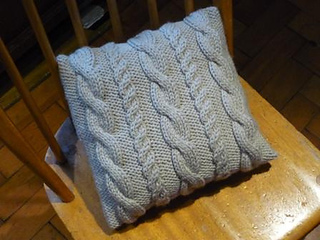 Ravelry Knit Cable Pillow Pattern Pattern By Angela Chick