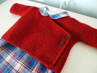 8eac63b5e Ravelry  Garter Stitch Baby Kimono pattern by Joji Locatelli