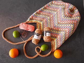 Ravelry Gehäkelte Einkaufstasche Granny Bag Pattern By Tanja