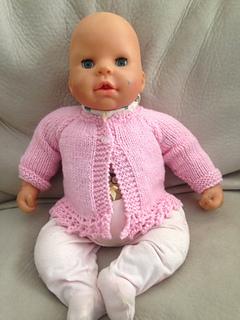 78269246ea29 Ravelry  ENYA Baby Cardigan Jacket pattern by marianna mel