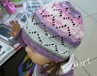 Crocus lace hat pattern by tatiana Martin