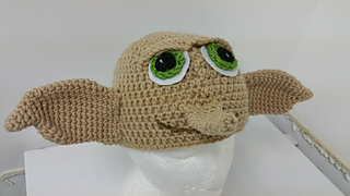 Ravelry  Dobby the House Elf Hat pattern by Tawny Bee 877d8feafa0