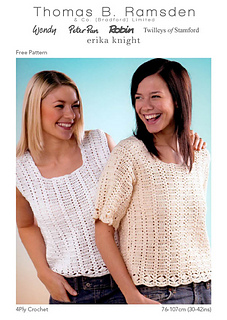 By Ravelry4ply Crochet Home Pattern The Craft Of Tops KTJc53l1uF