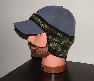 Ravelry  Baseball Cap Ear Warmer pattern by Jody Combs 65dfb78b2e0
