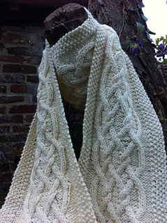 Celtic Cables Scarf Pattern By Satu Grohn Ravelry