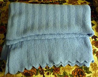 Ravelry Machine Knit Racked Full Fisherman Scalloped Baby