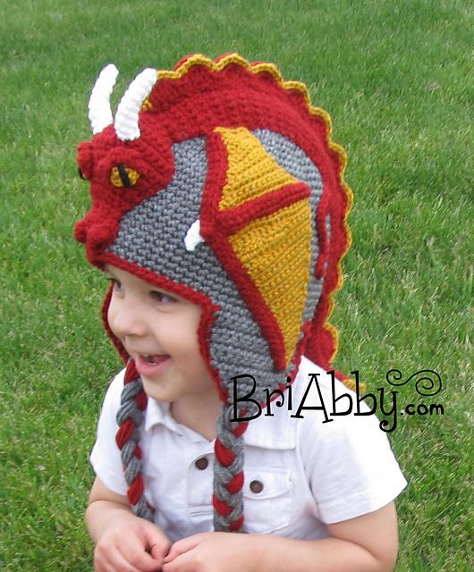 Ravelry Dragon Hat Pattern By Joni Memmott Briabby
