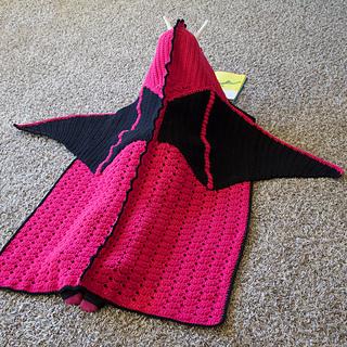 Ravelry Hooded Dragon Blanket Pattern By Joni Memmott Briabby