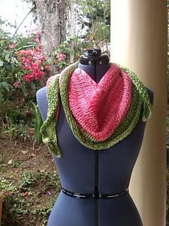 3915db4b3317fd Día Sandía shawlette ...