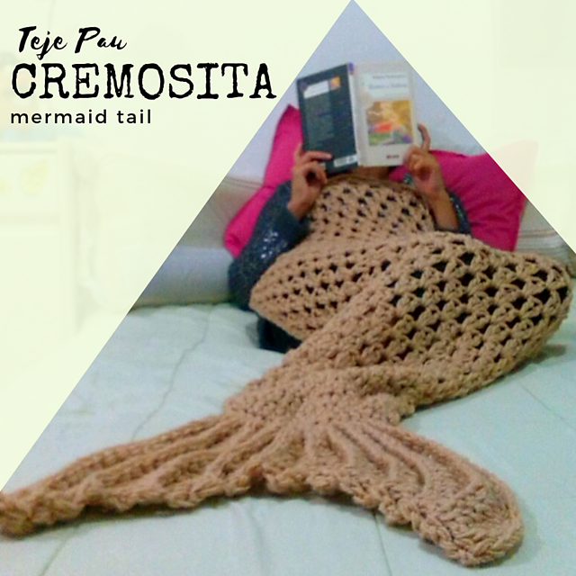 eb6e46854a6663 Ravelry  Cremosita mermaid tail pattern by Paula Escudero