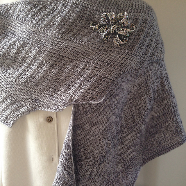 Ravelry: It\'s Your Style - A Tunisian Crochet Shawl pattern by Teri ...