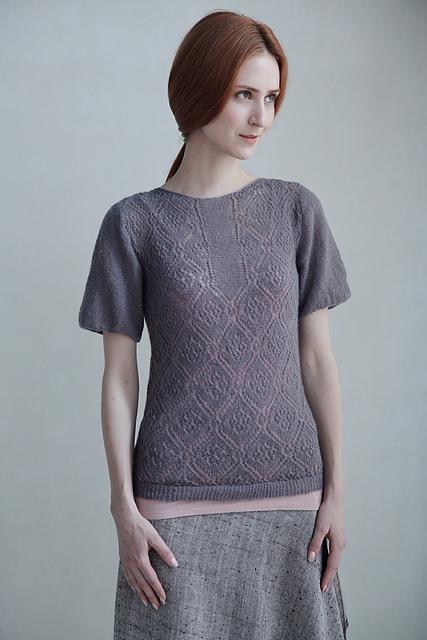 40f798f3c273 Ravelry  rose trellis blouse pattern by Teva Durham