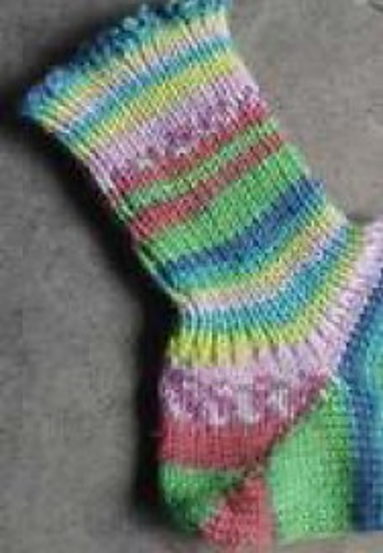Ravelry Top Down Socks Pattern By Kathryn Doubrley The Answer Lady