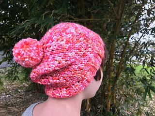 9c507485acb Ravelry  Cotton Candy Slouch pattern by Hannah Siegmund