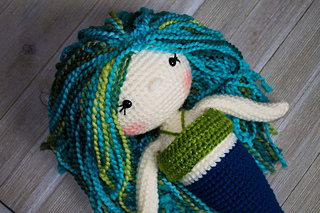 The Friendly Mermaid Doll Pattern By Kali Dahle Ravelry