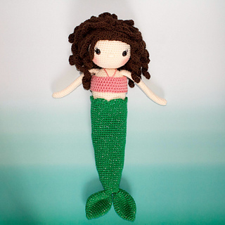 Ravelry Princessmermaid Doll Pattern By Kali Dahle