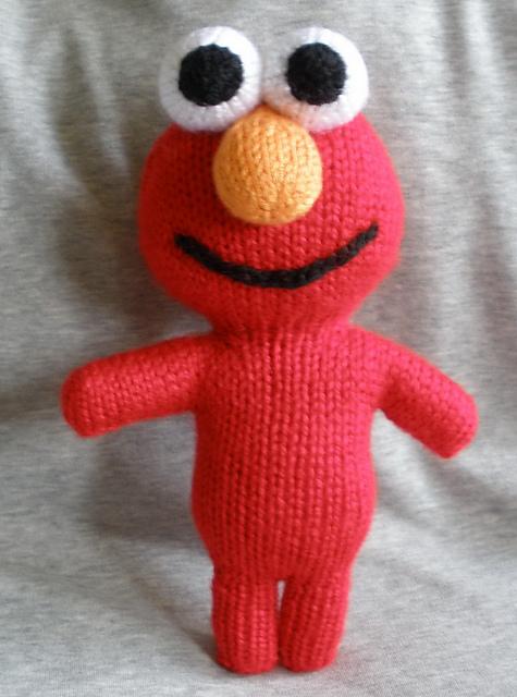 Ravelry New Elmo Peep Pattern By Theknittycat Shar