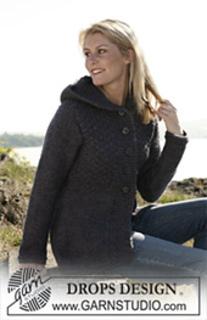 109-8 Hooded jacket pattern by DROPS design