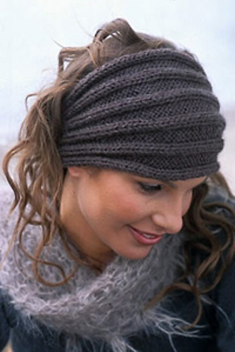 Ravelry 86 10 Headband Pattern By Drops Design