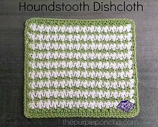 Ravelry houndstooth dishcloth pattern by carolyn calderon carolyn calderon dt1010fo