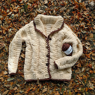 5b0c0ee80f1056 Ravelry  Classic Cable Cardigan pattern by The Queen Stitch