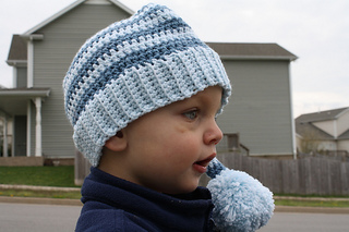4f47cb83eb2f4 Ravelry  Stocking Hat with Ribbed Edge pattern by Jessica Zoz