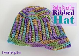 a9002e93a Ravelry: Baby Kristin Hat pattern by Tia Davis