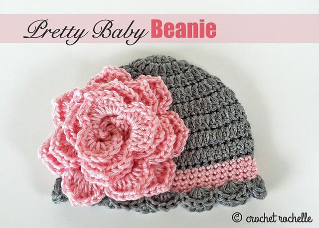 Ravelry Pretty Baby Beanie Pattern By Tia Davis