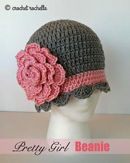 d1f811b0d Pretty Girl Beanie pattern by Tia Davis - Ravelry
