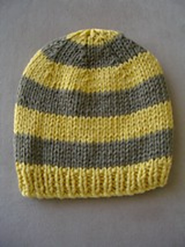 Ravelry: Child\'s beanie in 8ply pattern by Jennifer Lee