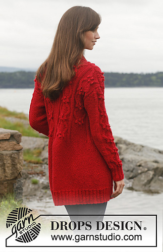 58c874ded15 150-10 Gladiola pattern by DROPS design - Ravelry