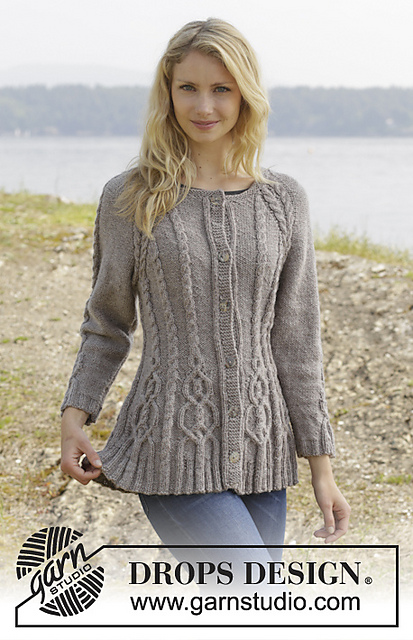 Ravelry 156 4 Alana Cardigan Pattern By Drops Design