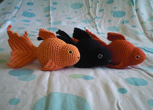 Ravelry Fancy Goldfish Amigurumi Pattern By Kate Wood