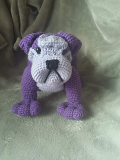 Ravelry English Bulldog Pattern By Tisztisz Amigurumi