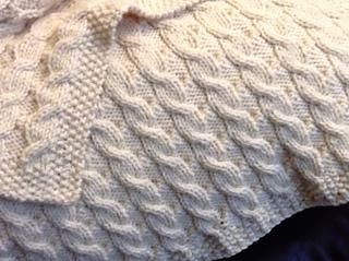 Ravelry Scarlett S Reversible Cable Baby Blanket Pattern