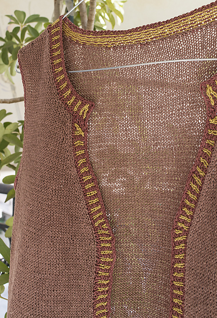 Κυματοειδές λάστιχο - Corrugated rib από το πατρόν Lenten