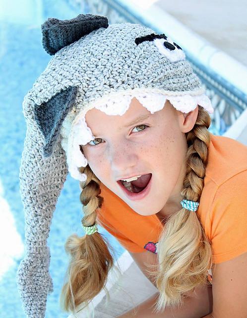 patterns   Snappy Tots Ravelry Store.   Shark Hat d8f8381b2d49