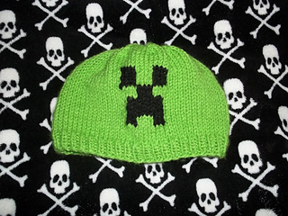 fba84afa5e2 Ravelry  Minecraft Creeper Beanie updated sizes!! pattern by Tracey McDowell