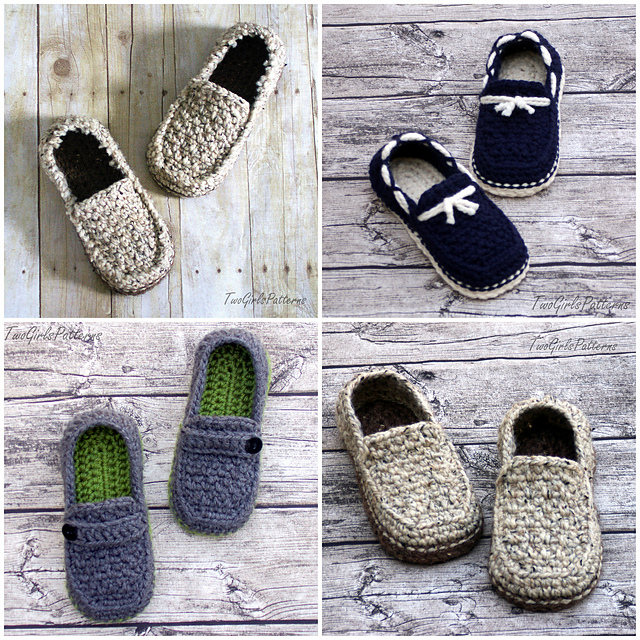 Ravelry Mens Loafer Super Pack Pattern By Lorin Jean