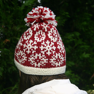 cafb778073d0dc Ravelry: Snow Day Hat pattern by Mary Ann Stephens