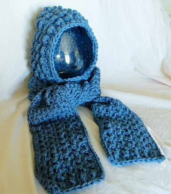 Ravelry: Paula\'s Quick Cozy Scoodie W/ Hand Warmers pattern by ...