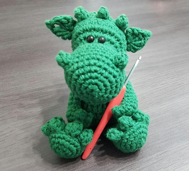 Ravelry How To Crochet Your Dragon Pattern By üka Marinüka