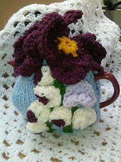 22e1fc040 Ravelry  Pansy Tea Cosy Knitting Pattern pattern by Pamela Lang