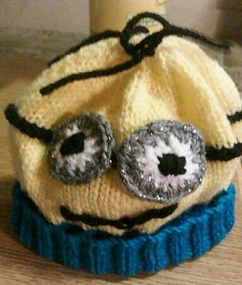 70c31f4b1 Ravelry  Minions Style Hat pattern by Pamela Lang