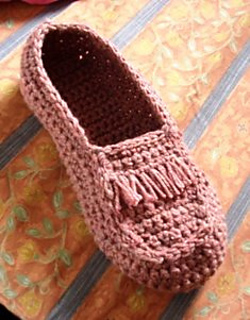 Moccasin pattern by Umme Yusuf