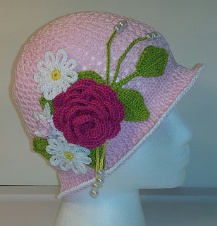 9f041db591f Ravelry  Summer Cloche and Panama Hat pattern by Upper Crust Crochet