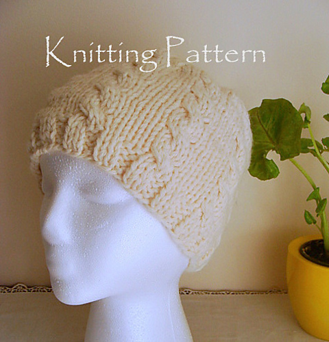 Ravelry Cable Beanie Hat Pattern By Valeries Gallery